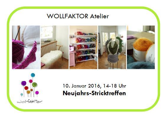 Atelier Neujahrsstricktreffen 2016